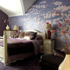 Wallpapering, painting